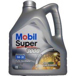 Mobil SUPER 3000 Formula FE 5W-30 4L