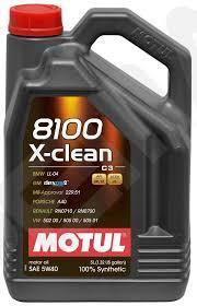 Motul 8100 X-Clean 5W-40 C3 5L