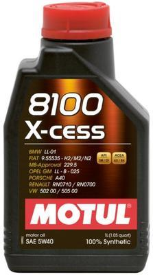 MOTUL 8100 X- CESS 5W-40 1L