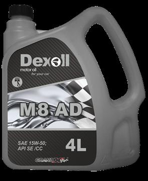 Dexoll 15W-50 M8 AD 4L