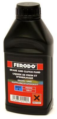 Brzdová kapalina FERODO DOT 4 - 0,5L
